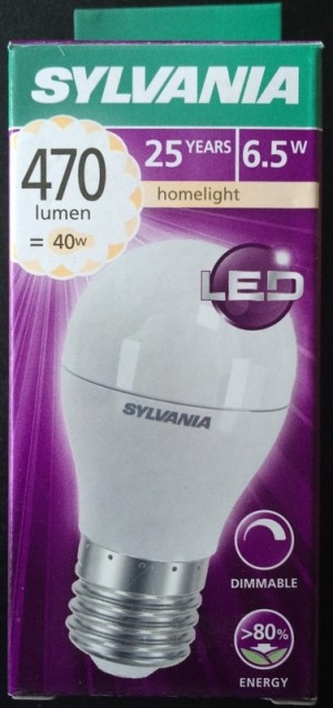 Led Lamp Dimbaar E27 Mini 6.5W